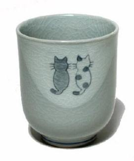 Kitty teacup