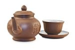 Yixing teapot and cup
