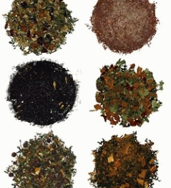 Tea leaves six types